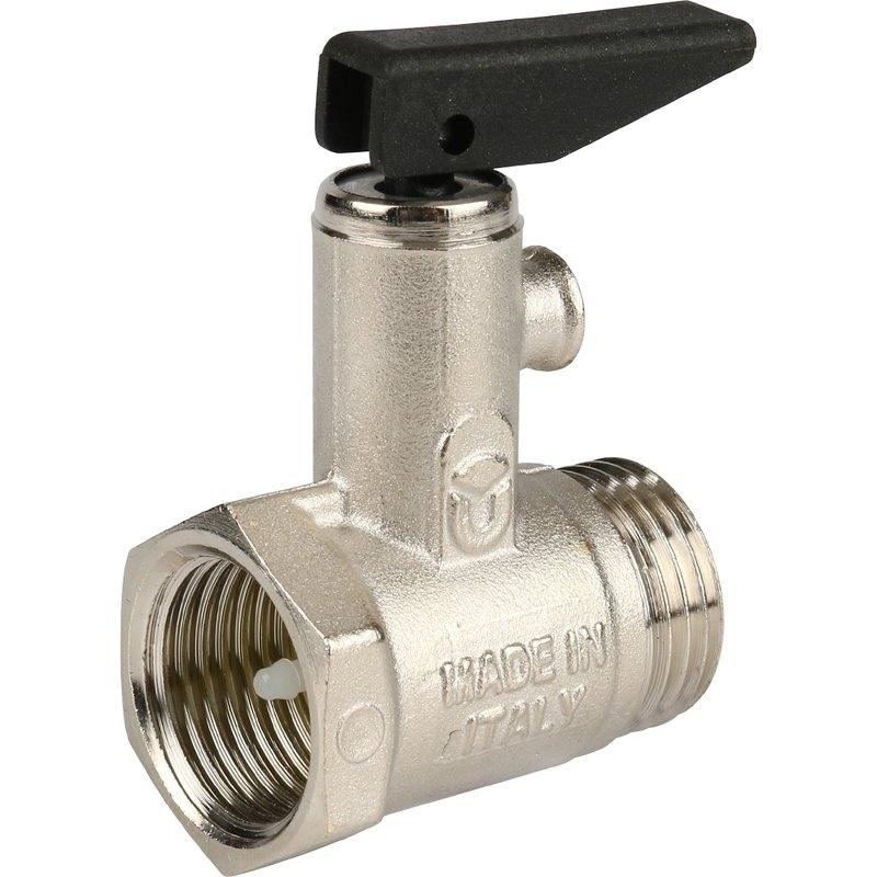 Itap 367 1/2 Клапан предохранительный для бойлера с ручкой спуска арт.: 41258