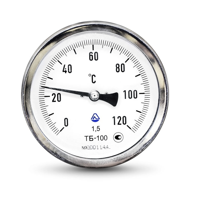 Термометр биметаллический ТБ-63-50 (0 +250°C) кл.2,5 - О