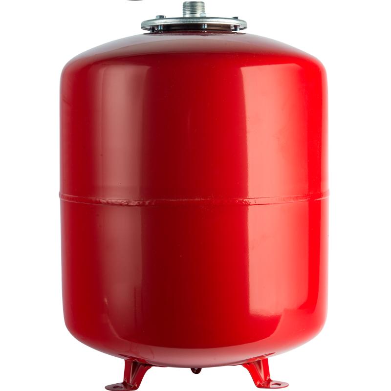 Расширительный бак на отопление 100 л. (цвет красный) арт.: STH-0006-000100 STOUT