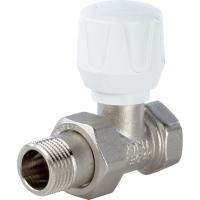 Клапан ручной терморегулирующий, прямой 1/2 арт.: SVR 2122 000015 STOUT