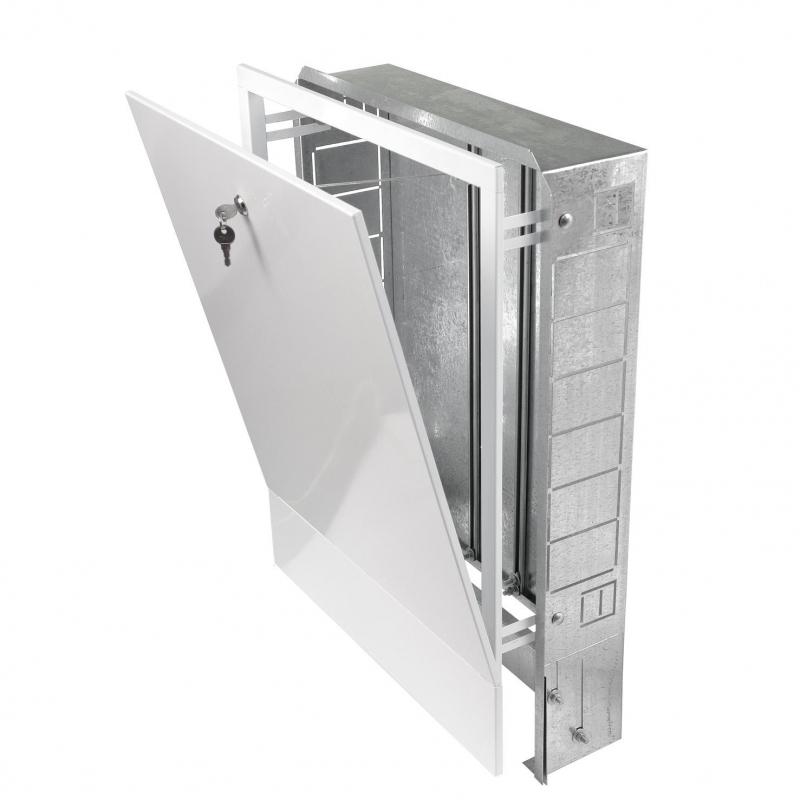 Шкаф распределительный встроенный 670х125х494 (1-5 выходов) арт.:ШРВ-1 Грота