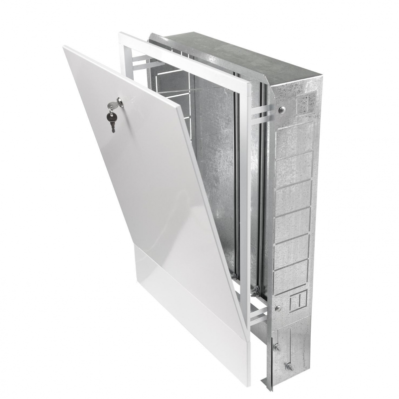 Шкаф распределительный встроенный 670х125х1044 (13-16 выходов) арт.:ШРВ-5 Грота