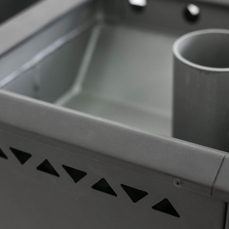 Банная печь «Сибирь» со встроенным баком