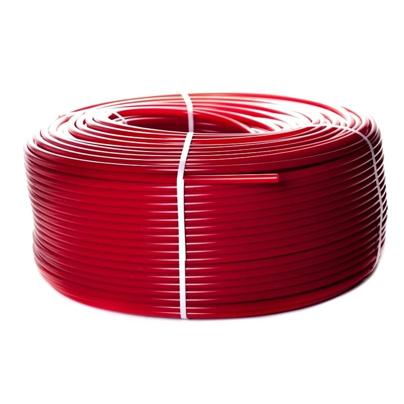 Труба PE-Xa/EVOH 20х2,0 (бухта 100 метров) сшитый полиэтилен водяной теплый пол с кислородным слоем красная