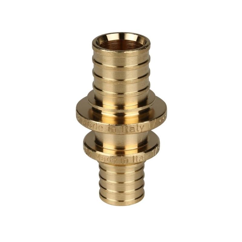 Муфта соединительная переходная 20x16 для труб из сшитого полиэтилена аксиальный арт.:SFA-0004-002016 STOUT