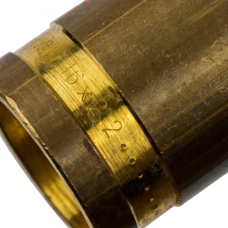 Монтажная гильза 16 для труб из сшитого полиэтилена аксиальный арт.:SFA-0020-000016 STOUT