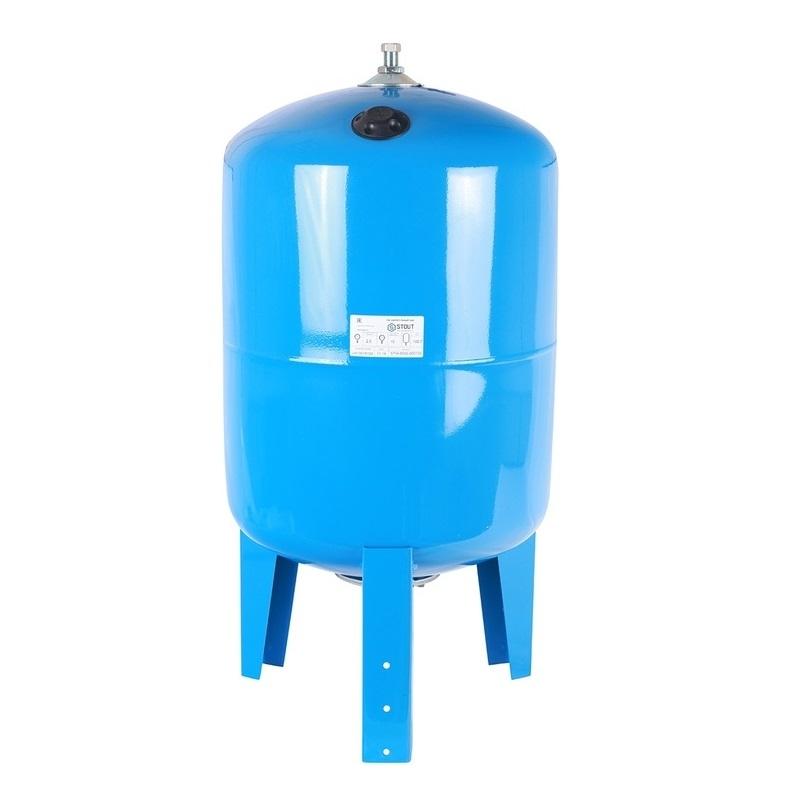 гидроаккумулятор 100 л. вертикальный (цвет синий)арт.: STW-0002-000100 STOUT