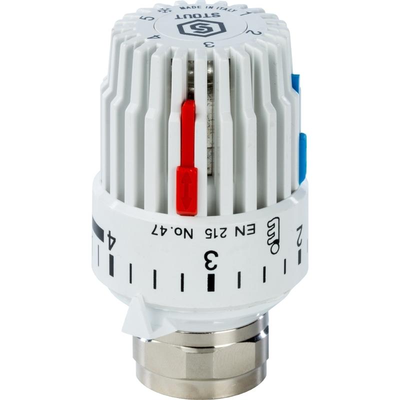 Головка термостатическая, газовая M30x1,5 арт.: SHT 0001 003015 STOUT