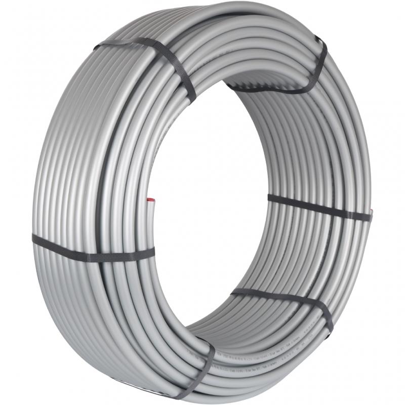 труба стабильная PE-Xc/Al/PE-Xc, серая 16x2,6  (бухта 100 м) арт.: SPS-0001-001626 STOUT