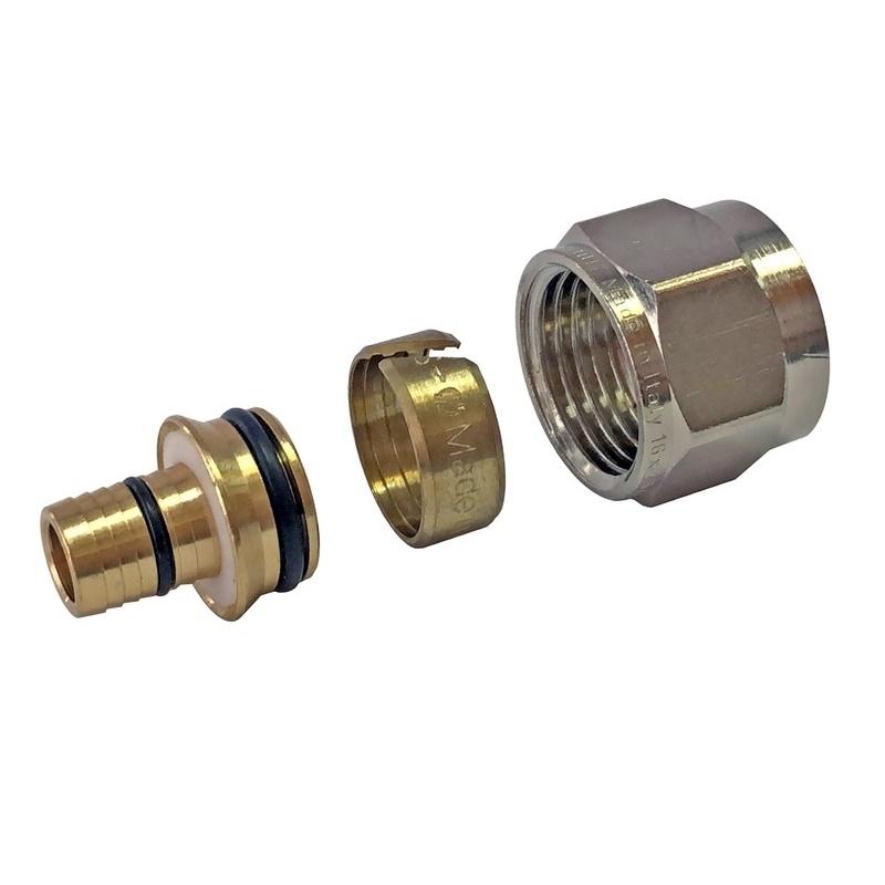 Фитинг компрессионный для труб PEX-AL-PEX 16х2,6х3/4 арт.: SFC-0026-162634 STOUT