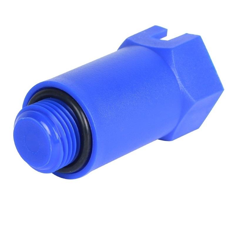 Пробка 1/2 длинная синяя арт.: SFA-0035-100012 STOUT