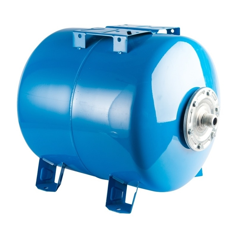 Расширительный бак, гидроаккумулятор 100 л. горизонтальный (цвет синий) арт.:STW-0003-000100 STOUT