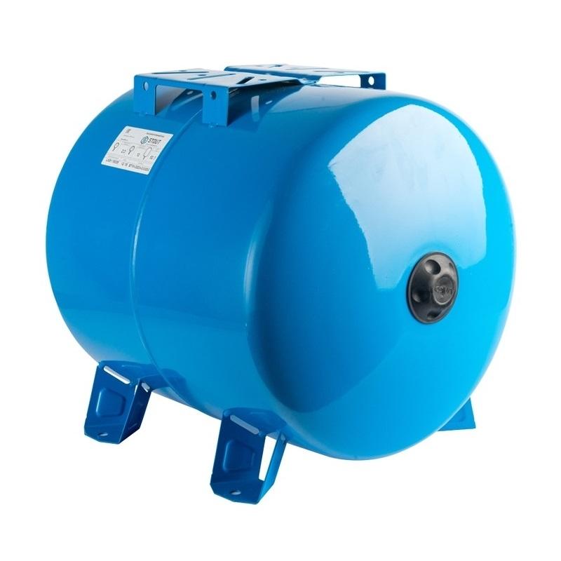 Расширительный бак, гидроаккумулятор 80 л. горизонтальный (цвет синий) арт.: STW-0003-000080 STOUT