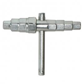 """Ключ шестигранный для фитингов и разъемных соединений """"американка"""" 12-24 мм"""