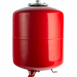 Расширительный бак на отопление 24 л. (цвет красный)