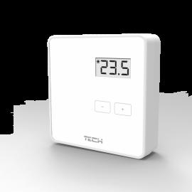 Беспроводной двухпозиционный комнатный терморегулятор (белый)