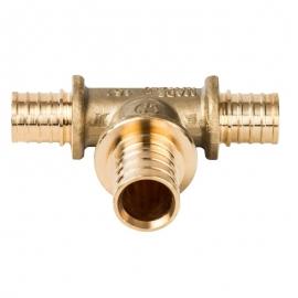 Тройник переходной 16x20x16 для труб из сшитого полиэтилена аксиальный арт.: SFA-0014-162016 STOUT