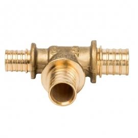 Тройник переходной 20x20x16 для труб из сшитого полиэтилена аксиальный арт.: SFA-0014-202016 STOUT