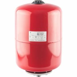 Расширительный бак 18 л. отопление (цвет красный)