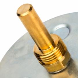 Термометр биметаллический погружной Dn 63 мм, гильза 50мм арт.:SIM-0002-635015 STOUT