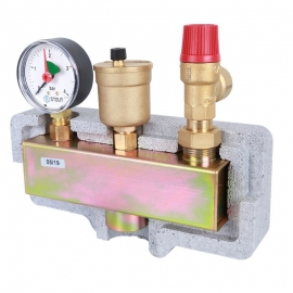 Группа безопасности котла (до 50 кВт) теплоизоляция