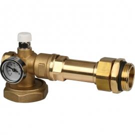 Насосно-смесительный узел с термостатическим клапаном 20-43°C, без насоса арт.:SDG-0020-004000 STOUT