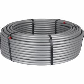 труба стабильная PE-Xc/Al/PE-Xc 20x2,9 серая (бухта 100 м)