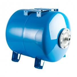 гидроаккумулятор 100 л. горизонтальный (цвет синий)